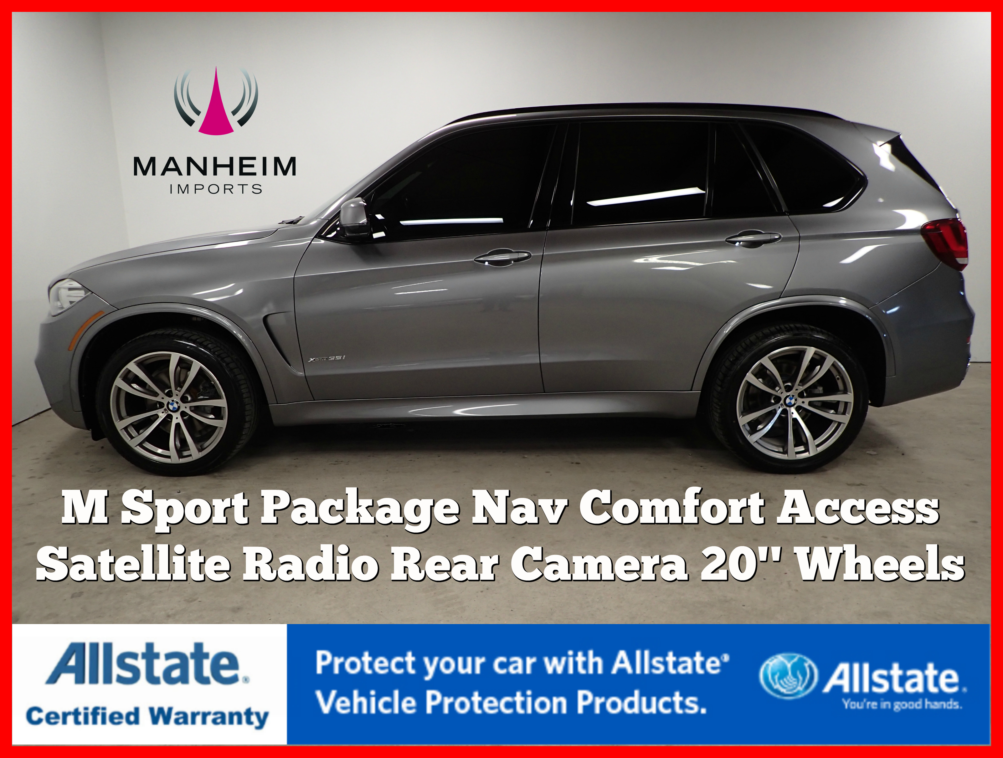 Pre-Owned 2015 BMW X5 xDrive35i M Sport