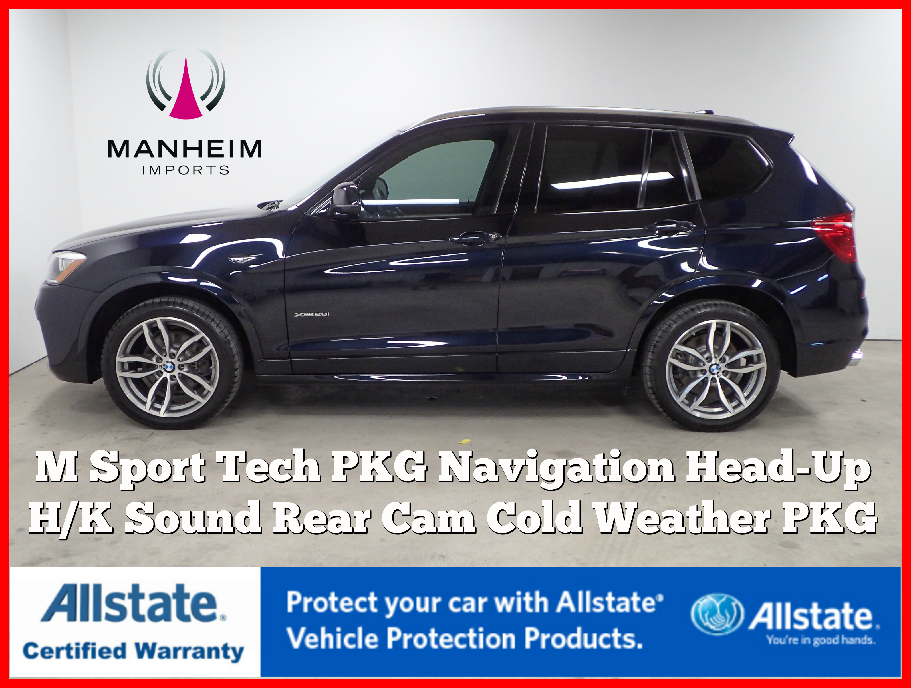 Pre-Owned 2016 BMW X3 xDrive28i M Sport