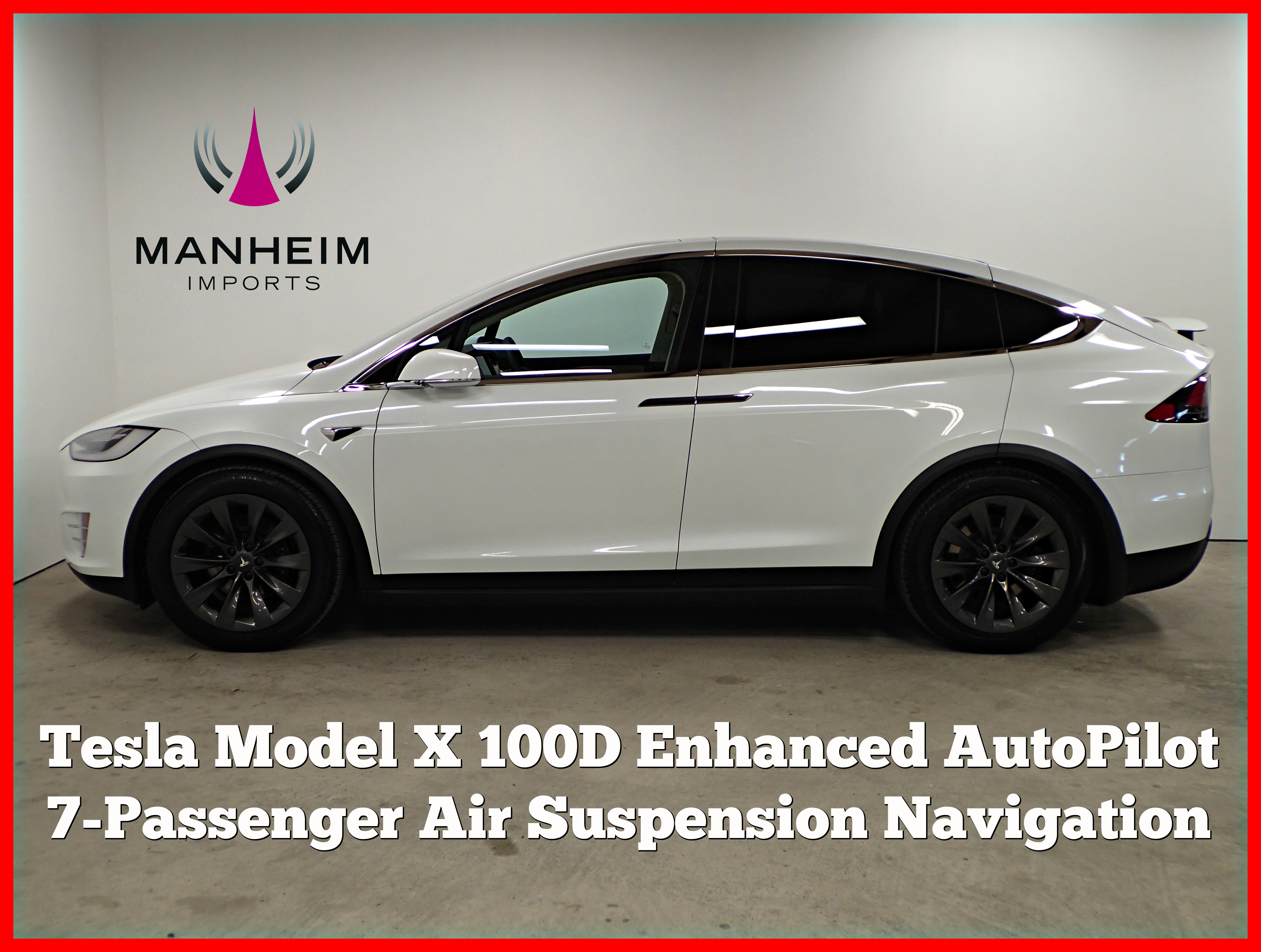 Pre-Owned 2018 Tesla Model X 100D