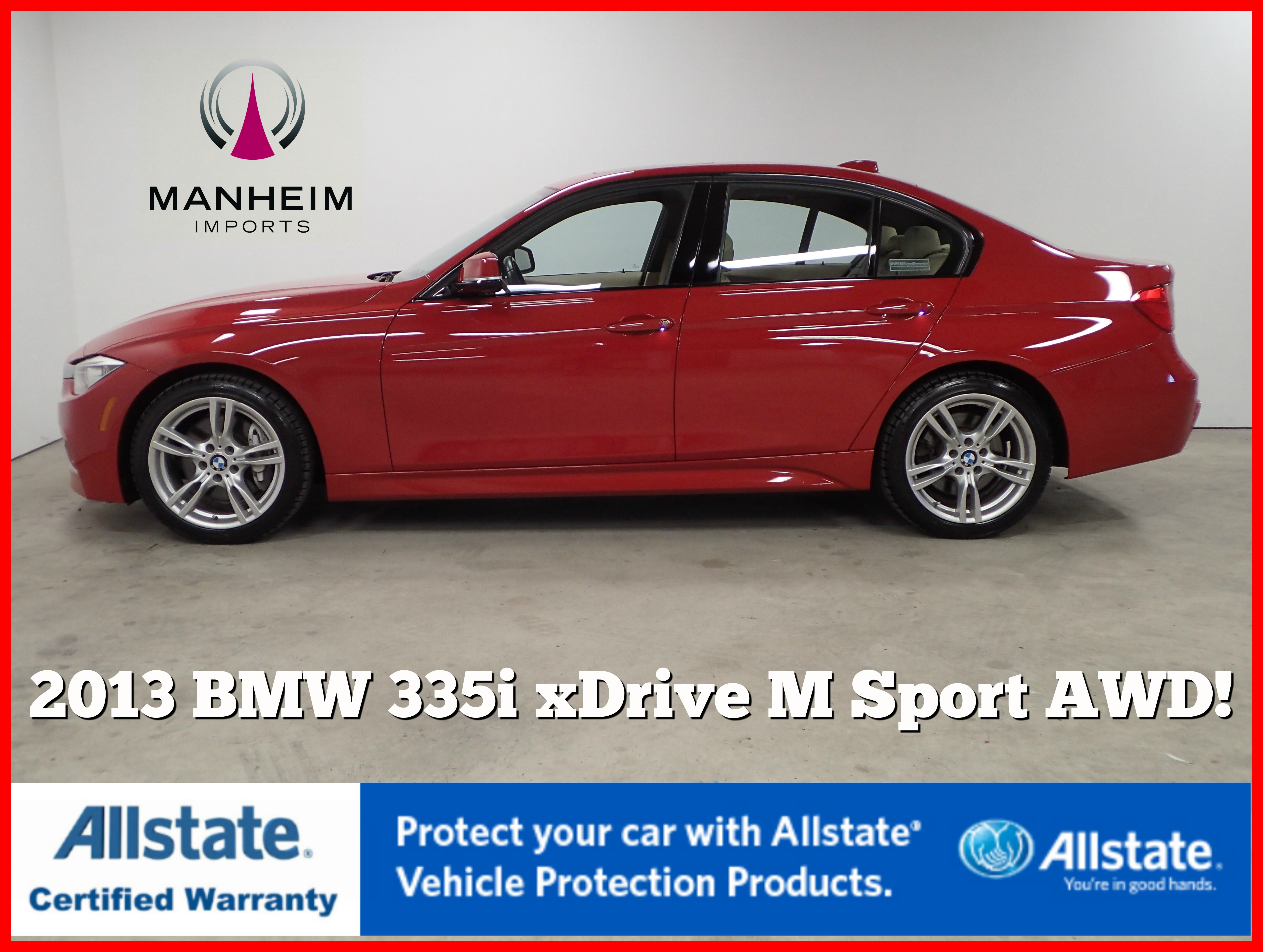 Pre-Owned 2013 BMW 3 Series 335i xDrive M Sport