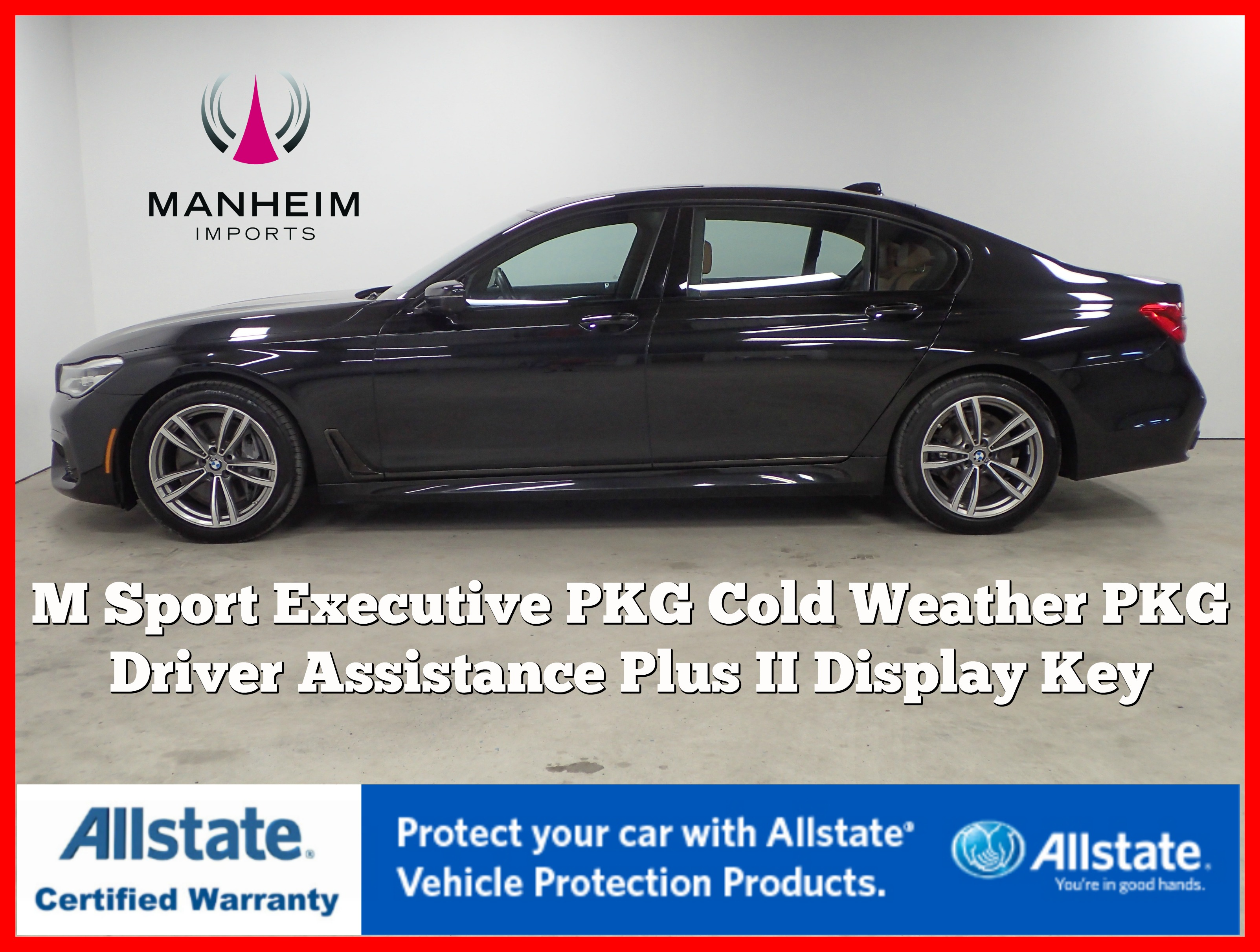 Pre-Owned 2016 BMW 7 Series 750i xDrive M Sport