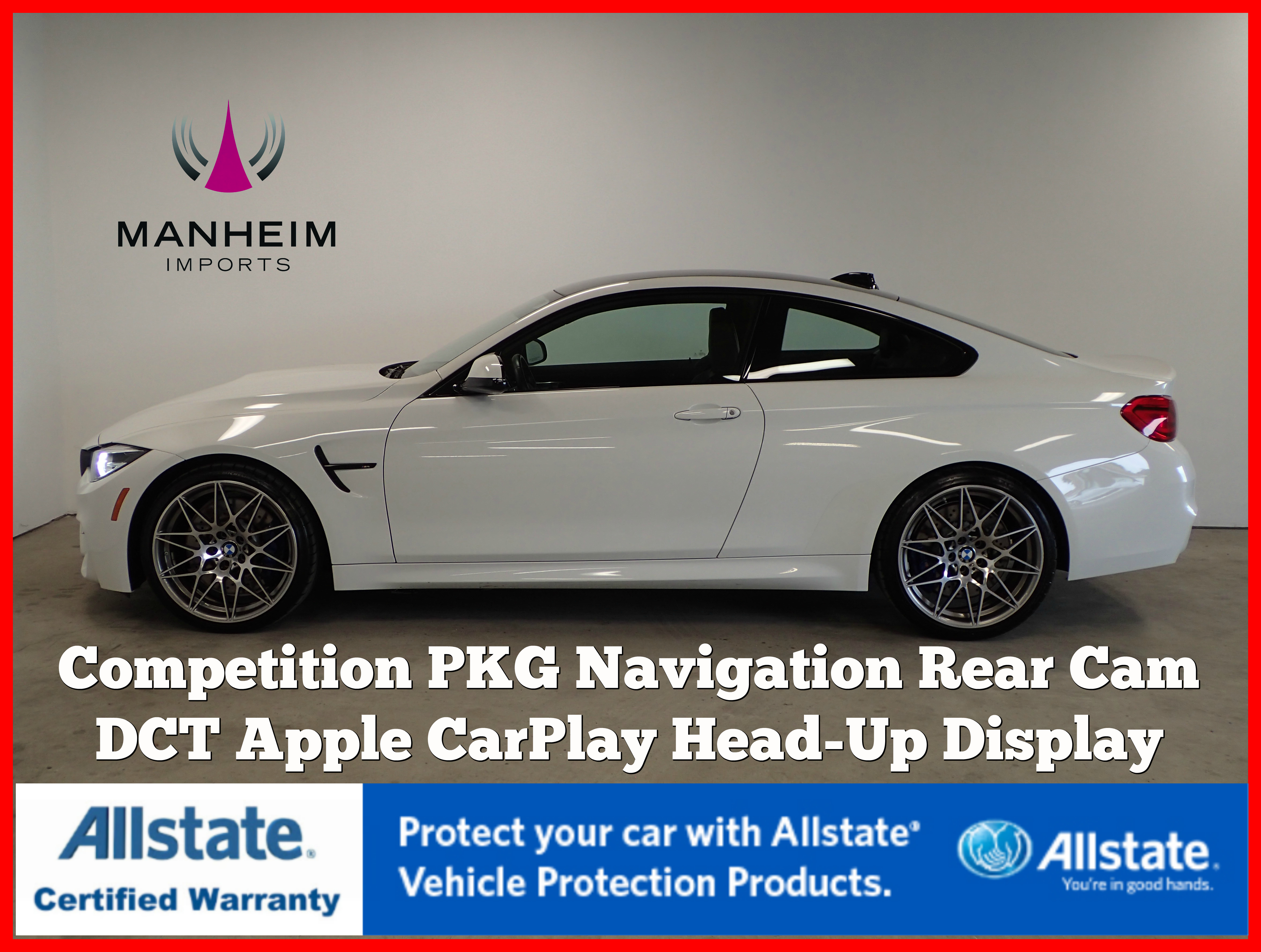 Pre-Owned 2018 BMW M4 Competition Package