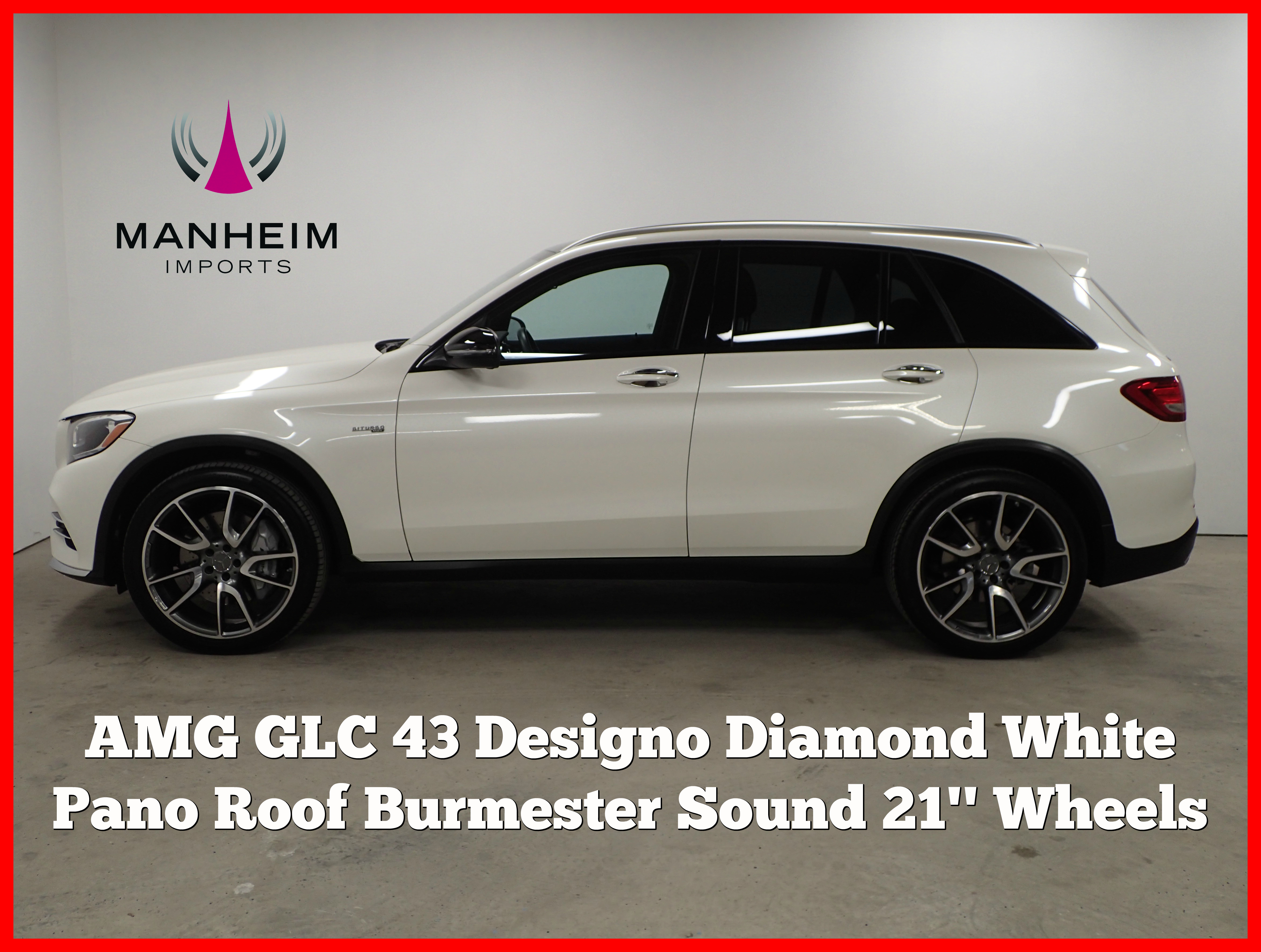 Pre Owned 2018 Mercedes Benz Glc Amg 43
