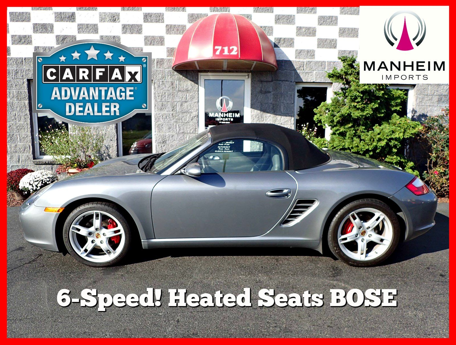 Pre-Owned 2006 Porsche Boxster S 6 Speed