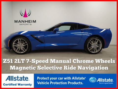 Pre-Owned 2016 Chevrolet Corvette Z51 2LT