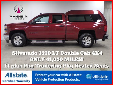 Pre-Owned 2014 Chevrolet Silverado 1500 LT Double Cab