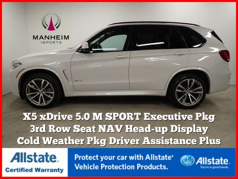 Pre-Owned 2016 BMW X5 xDrive50i M Sport