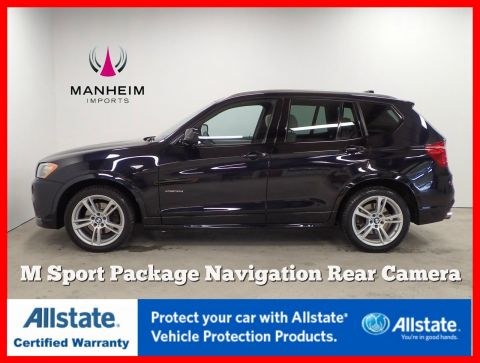 Pre-Owned 2014 BMW X3 xDrive35i M Sport