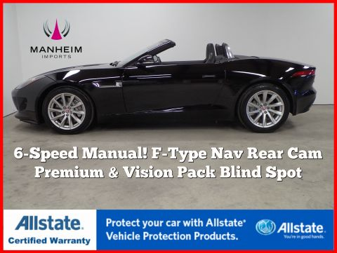 Pre-Owned 2016 Jaguar F-TYPE Convertible 6MT