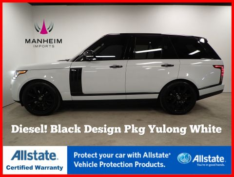 Pre-Owned 2016 Land Rover Range Rover Diesel HSE Black Design Package