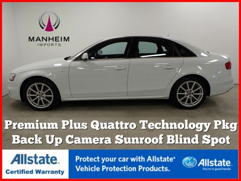 Pre-Owned 2016 Audi A4 Premium Plus Quattro