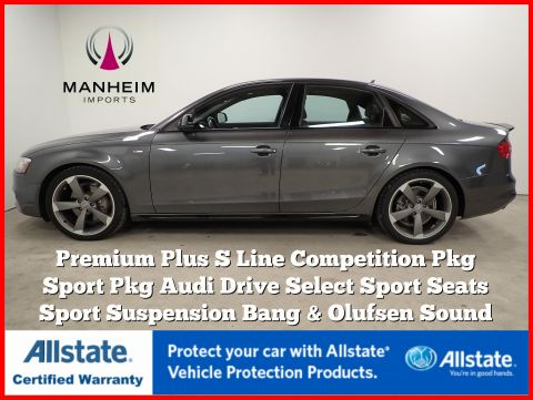 Pre-Owned 2015 Audi A4 Premium Plus S Line Competition