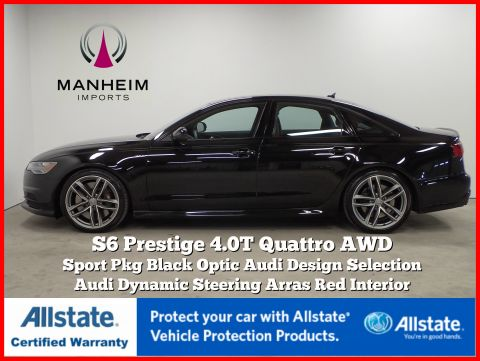Pre-Owned 2016 Audi S6 Prestige Black Optic Sport Pkg