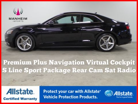 Pre-Owned 2018 Audi A5 Coupe Premium Plus