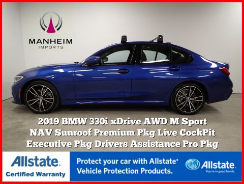 Pre-Owned 2019 BMW 3 Series 330i xDrive M Sport