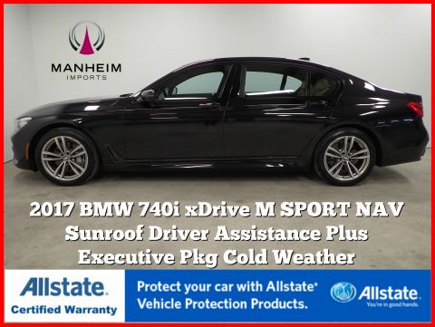 Pre-Owned 2017 BMW 7 Series 740i xDrive M Sport