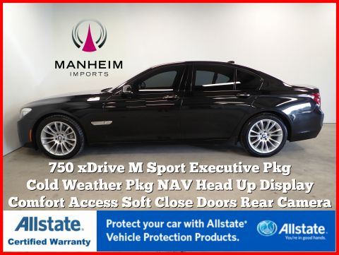 Pre-Owned 2013 BMW 7 Series 750i xDrive M Sport