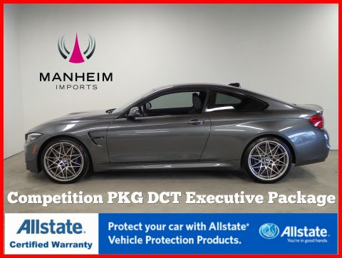 Pre-Owned 2018 BMW M4 Coupe Competition Pkg