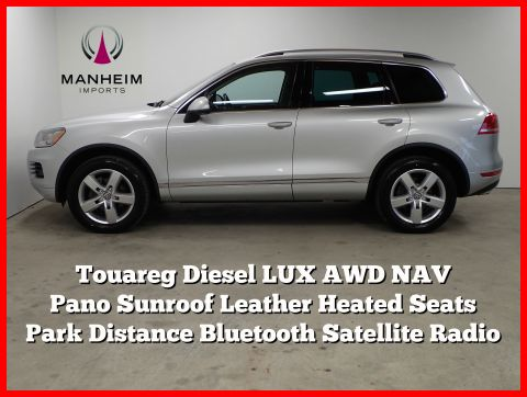Pre-Owned 2012 Volkswagen Touareg Lux